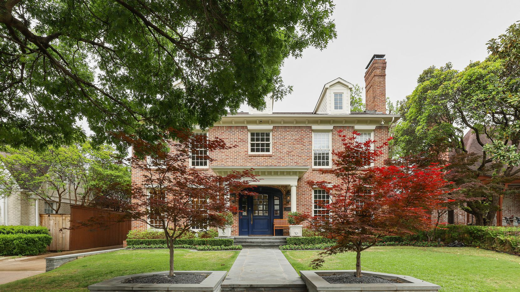 If the Highland Park Independent School District is your goal, the five-bedroom home at 4529 N. Versailles Ave. might be your destination.