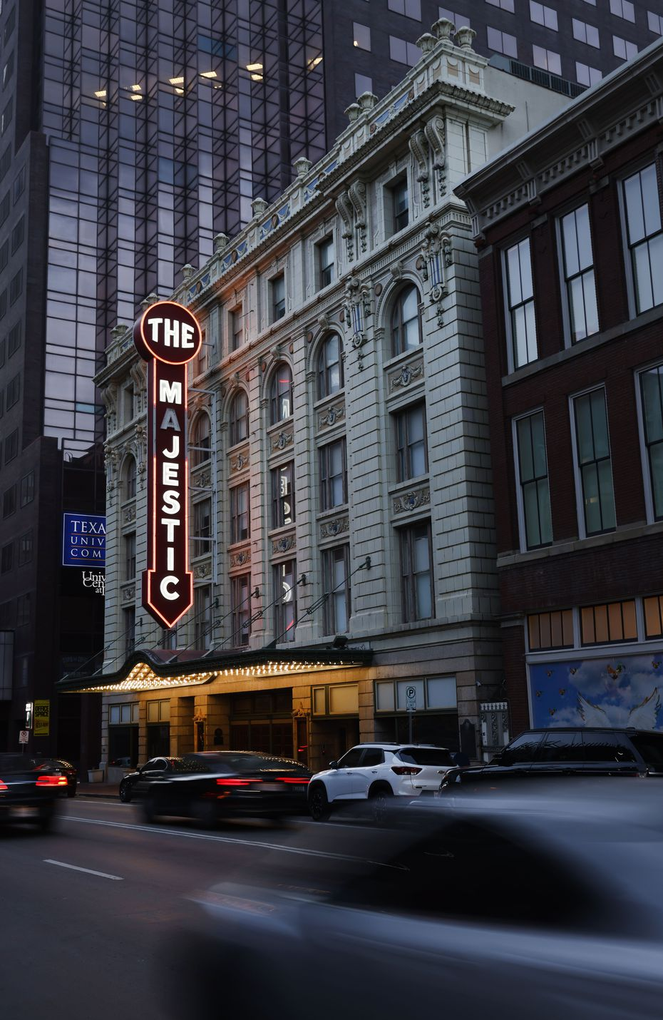 Theater officials hope to host a gala benefit and public tours at the Majestic in September.