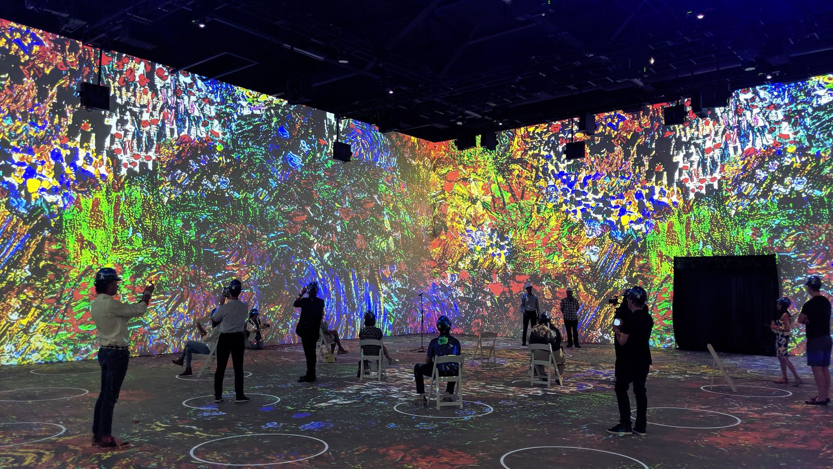 """""""Immersive Van Gogh Exhibit,"""" opens Aug. 7 in three galleries covering 14,000 square feet."""