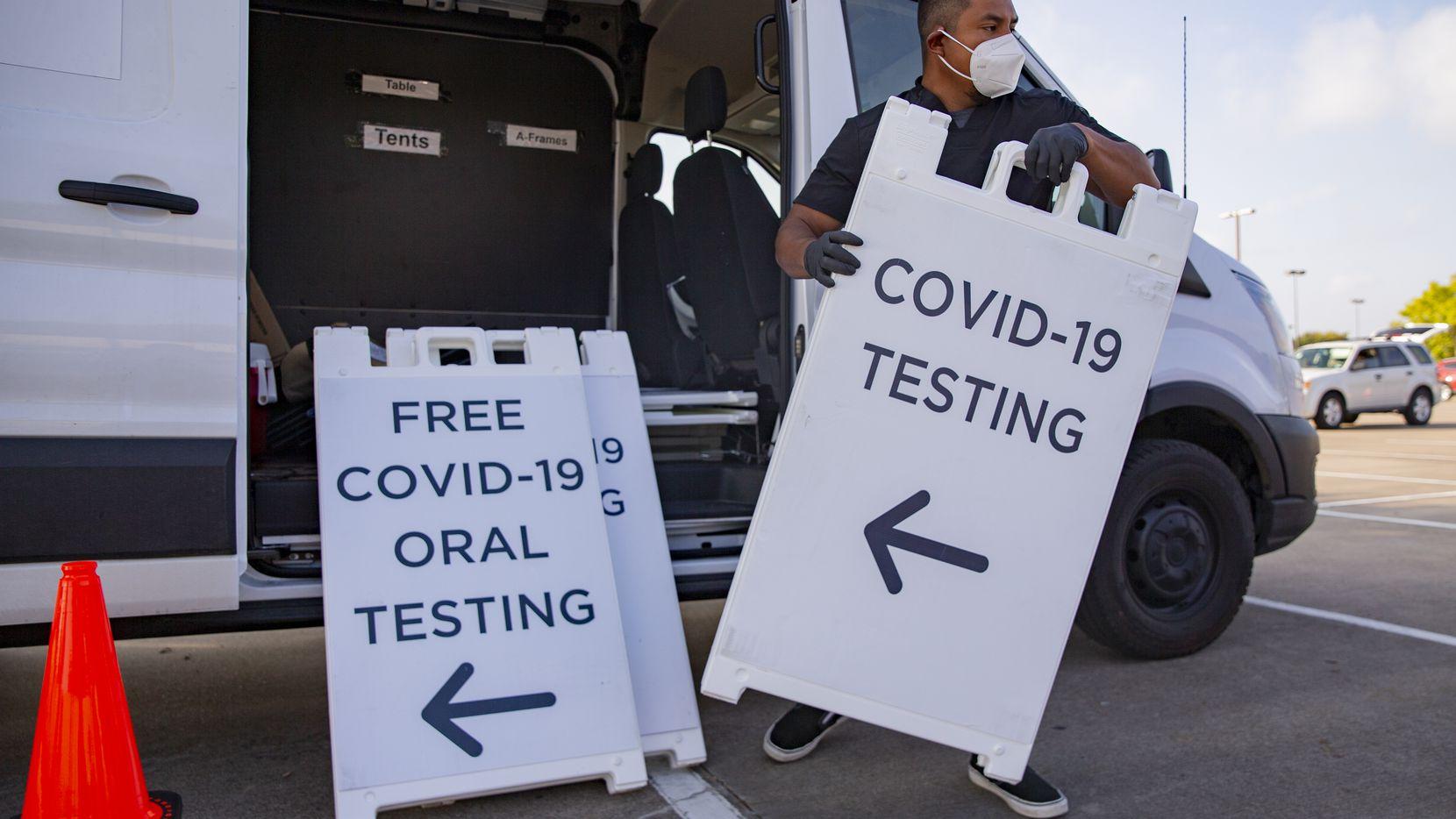 La prueba de covid-19 esta disponible a largo del condado de Dallas en diferentes ubicaciones. Aún existen sitios que ofrecen los tests sin ningún costo.