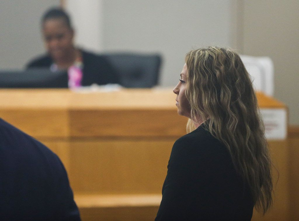 Fired Dallas police officer Amber Guyger appeared in court Thursday for the first time before state District Judge Tammy Kemp, who will preside over her murder trial. Guyger is charged with murder in the Sept. 6 shooting death of Botham Jean in his apartment.