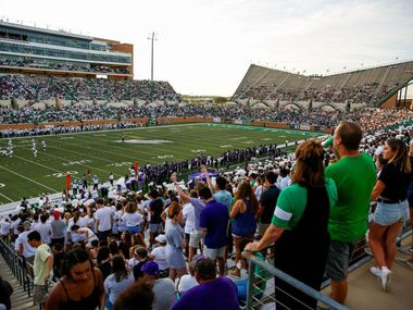 North Texas will limit capacity at Apogee Stadium this fall due to the COVID-19 pandemic. UNT will limit capacity to 25% in the bowl of the venue and 50% in the club and suite levels.
