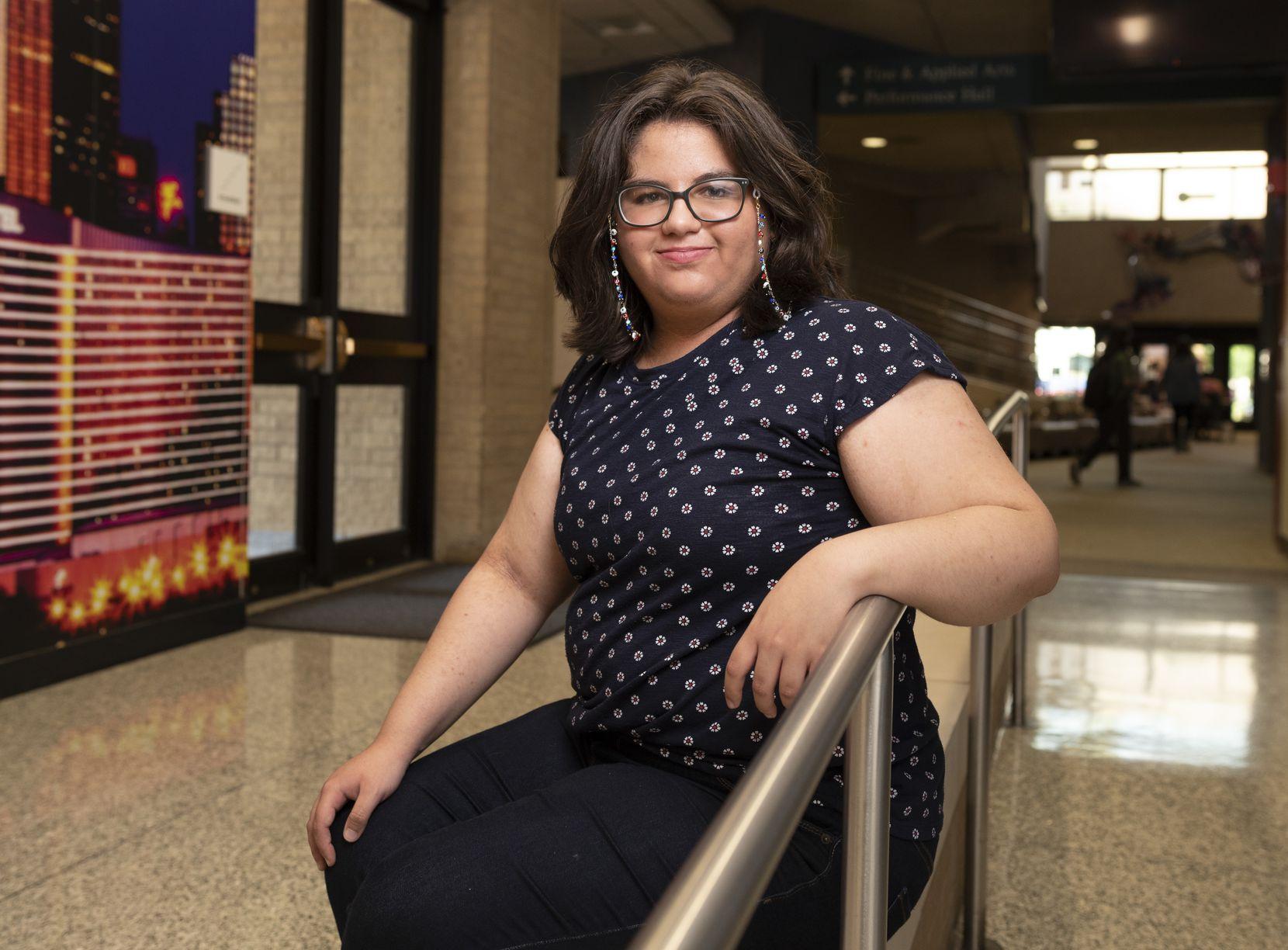 Barbara Gandica-Martinez, 20, graduated this spring and plans to study animation at UT-Dallas.