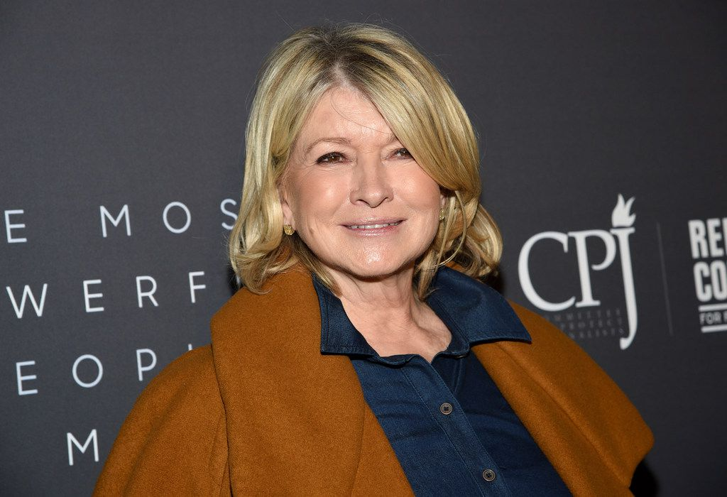In this April 11, 2019 file photo, television personality Martha Stewart attends The Hollywood Reporter's annual Most Powerful People in Media cocktail reception at The Pool in New York.