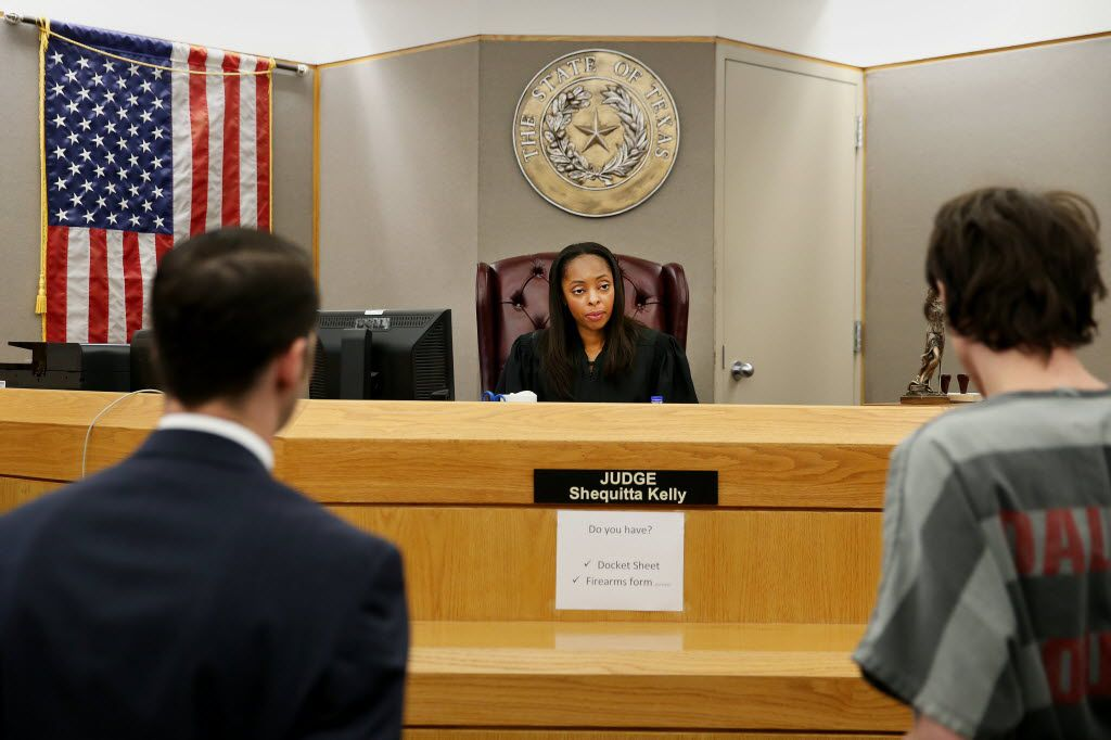 Judge Shequitta Kelly at Frank Crowley Courts Building in Dallas.