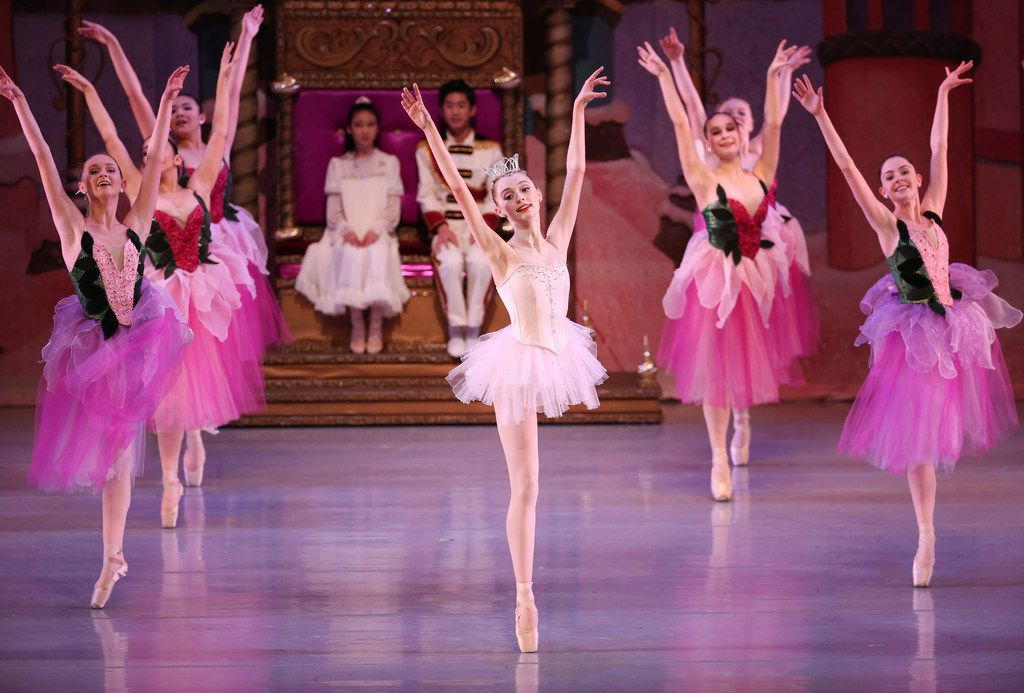 "Chamberlain Performing Arts students perform in ""The Nutcracker"" at the Eisemann Center in Richardson In November 2017."