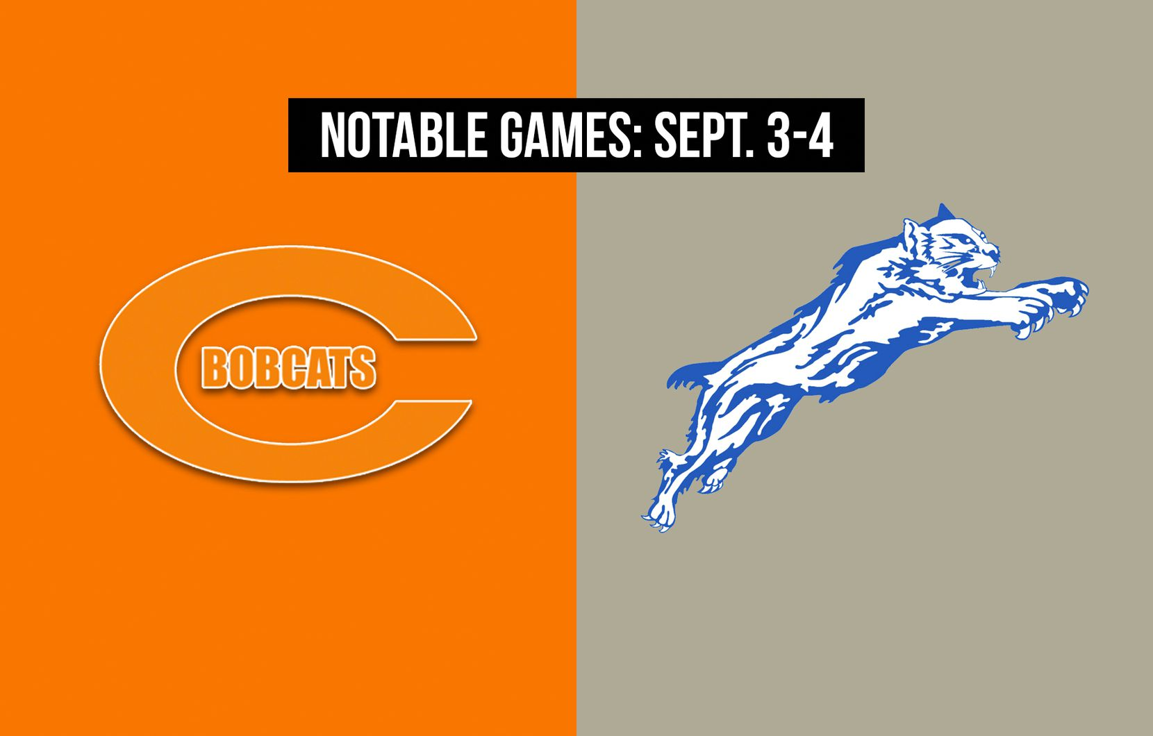 Notable games for the week of Sept. 3-4 of the 2020 season: Celina vs. Paris.