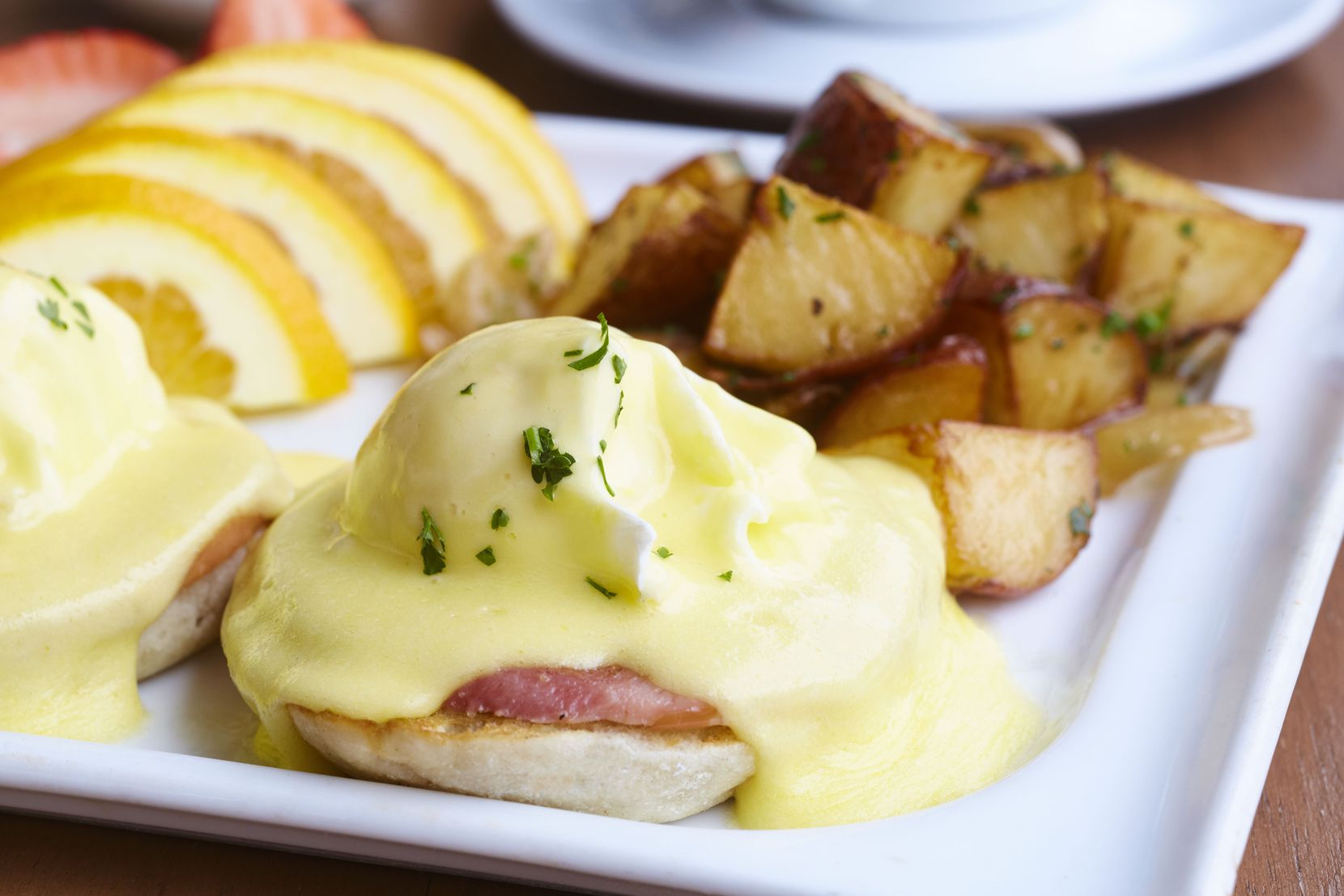 Al Biernat's offers eggs Benedict as part of its Easter brunch this year.