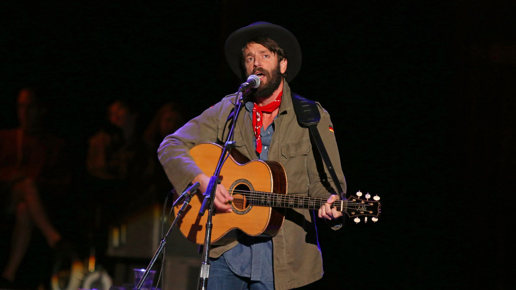 This Oct. 20, 2012 photo shows Ray LaMontagne performing at the Bridge School Benefit Concert at the Shoreline Amphitheatre in Mountain View, Calif.