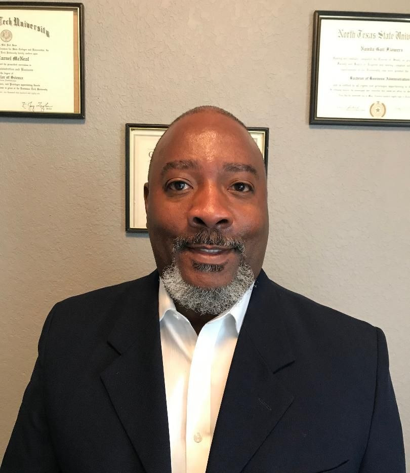 Ricky McNeal, who has served as president of the local chapter of the NAACP for about seven years, has stepped down after being appointed to the Garland City Council.