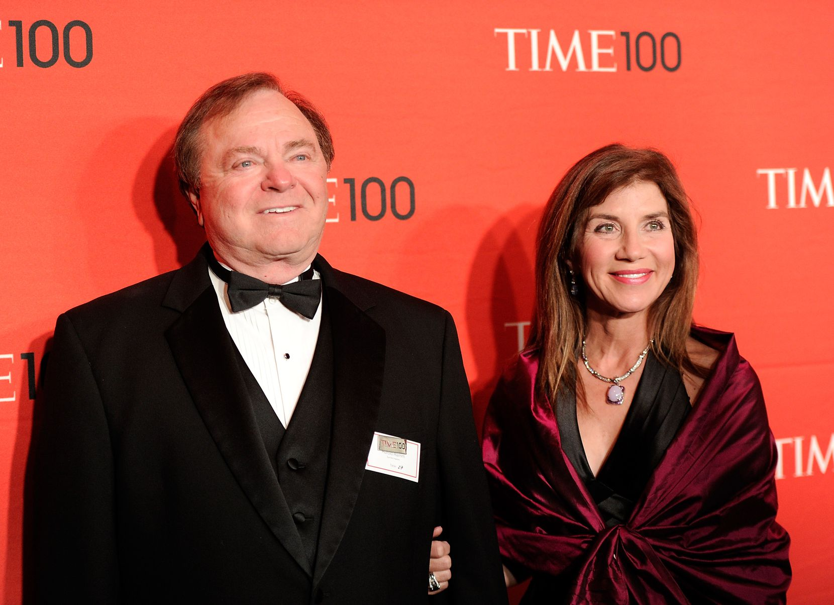 FILE - In this April 24, 2012 file photo, Continental Resources CEO Harold Hamm and his then wife Sue Ann Hamm attend the TIME 100 gala, celebrating the 100 most influential people in the world, at the Frederick P. Rose Hall in New York. Sue Ann, now the ex-wife of multibillionaire energy tycoon Hamm, plans to appeal a court ruling that awarded her nearly $1 billion in a divorce settlement, according to her attorney. An Oklahoma County judge awarded $995.4 million this week to Sue Ann, who was married for more than 20 years to the Continental Resources Inc. CEO before she filed for divorce in 2012.  (AP Photo/Evan Agostini, File) 01022015xBIZ