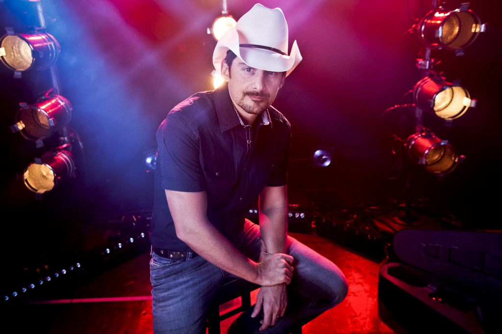 Brad Paisley is one of 23 artists performing at the ACM Awards on Sunday, April 19, 2015.