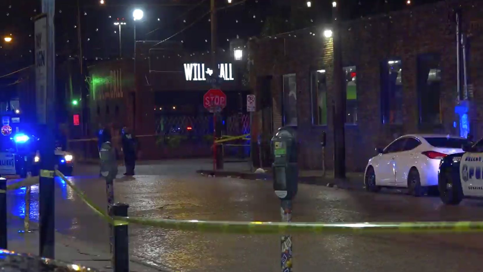 Police say two people were shot early Sunday, July 11, 2021 near Main Street and Crowdus Street in Deep Ellum.