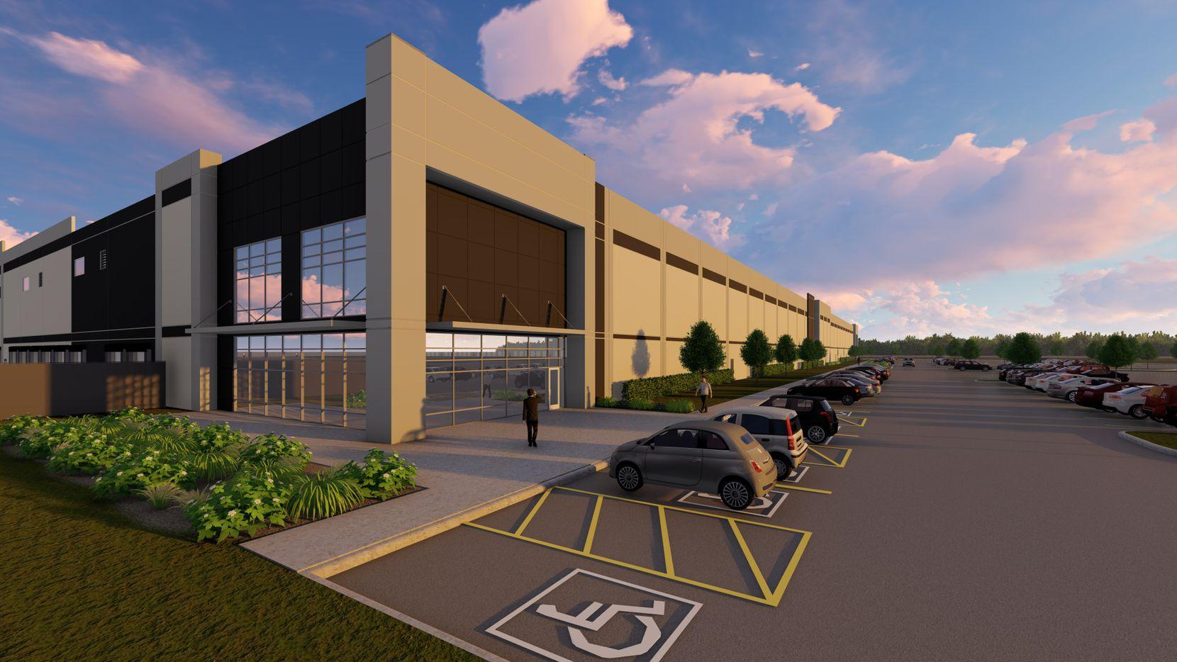 Jones Development is building the new distribution center for Ollie's Bargain Outlet.