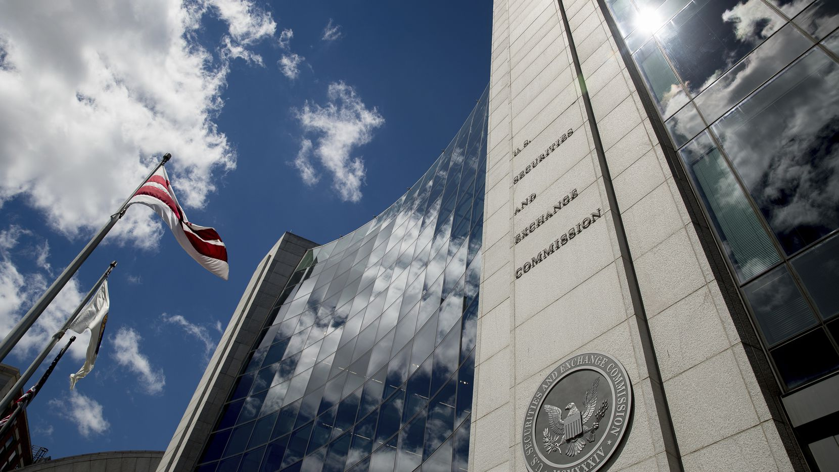 U.S. Securities and Exchange Commission building in Washington.