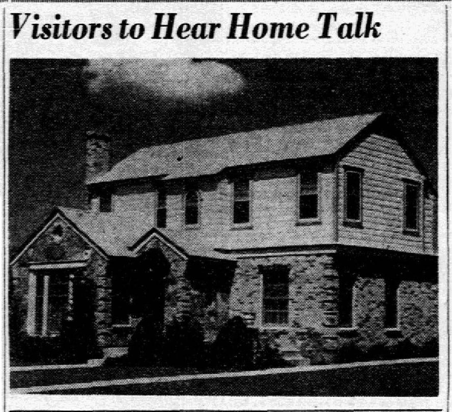 Photo published with story on Nov. 6, 1938.