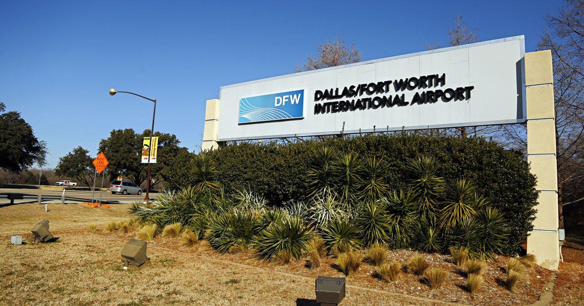 Aeropuerto Internacional DFW.