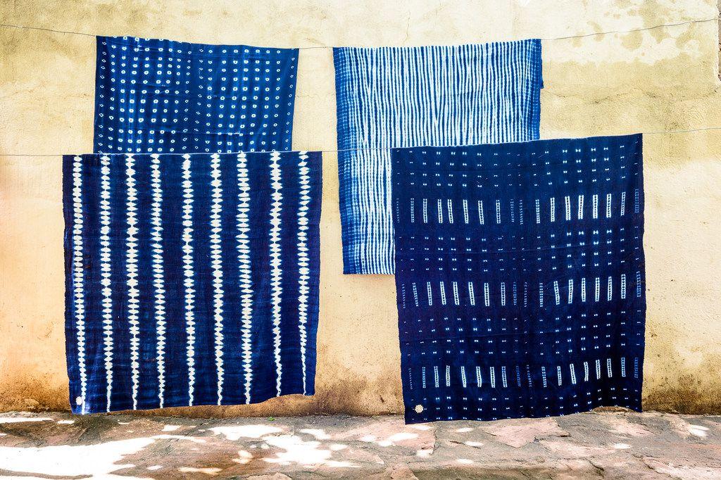Textiles by artist Aissata Namoko