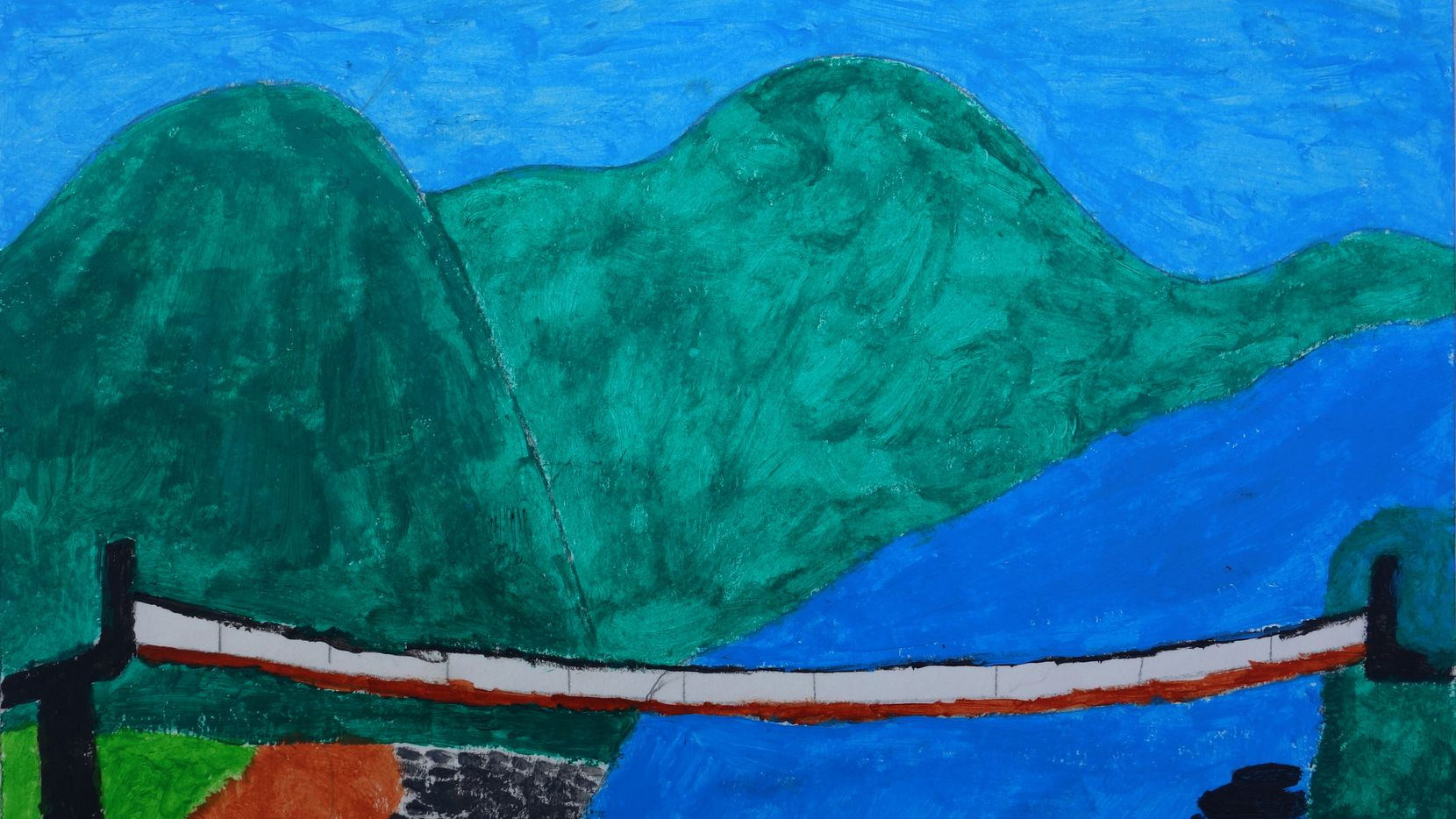 The River, 2010 by Molina High School student Alexander Lopez.