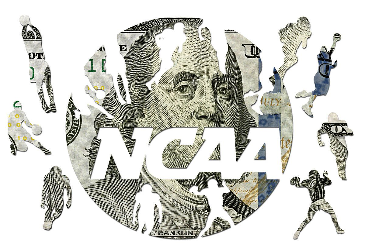 An illustration of the NCAA logo.
