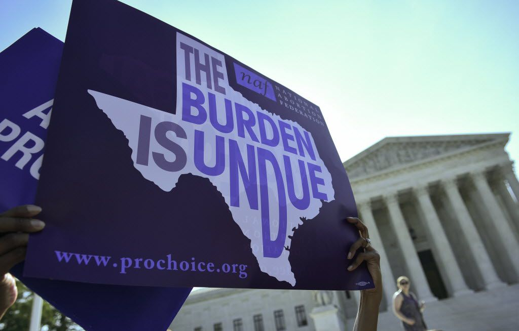 The Supreme Court last month struck down a Texas law placing a raft of restrictions on abortion clinics. An analysis of the data gathered by the Texas Department of State Health Services shows the law disproportionately affected Hispanic women.