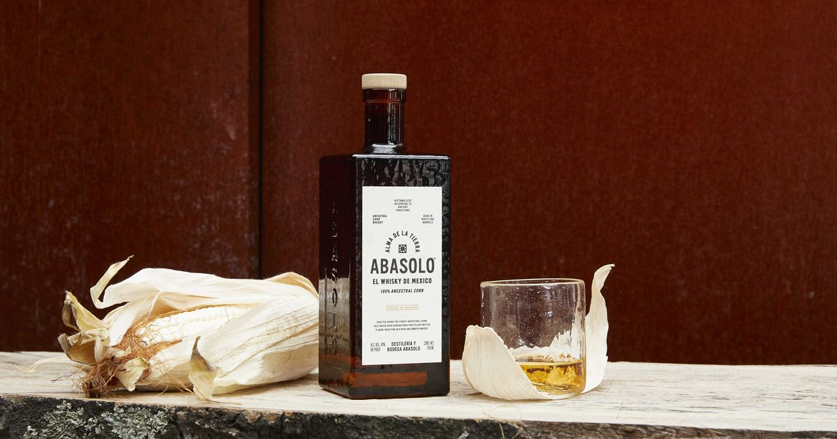 New Abasolo whisky from central Mexico is made with 100% ancestral corn