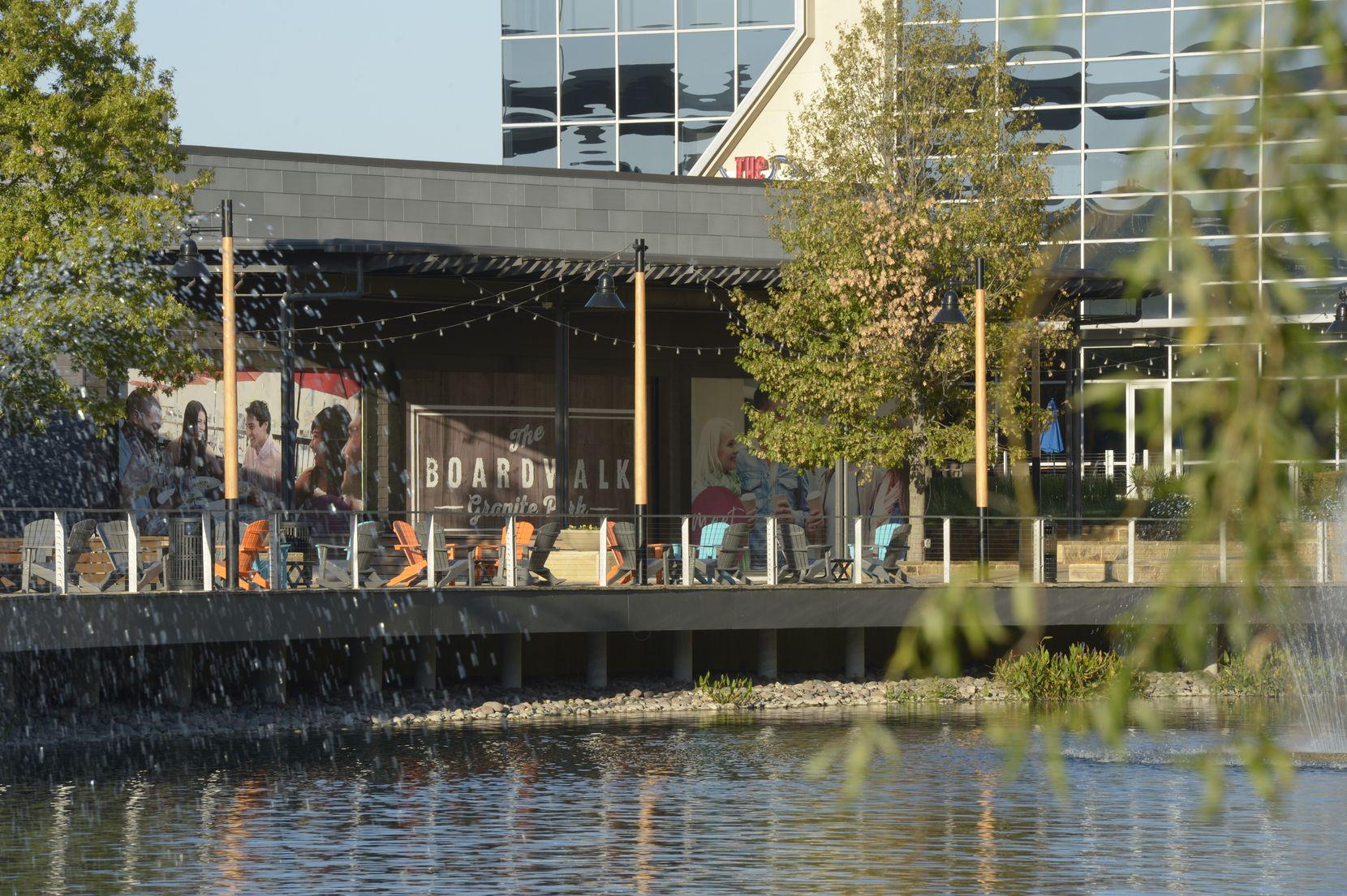 Granite Properties is adding four more restaurants to its Granite Park development in Plano.