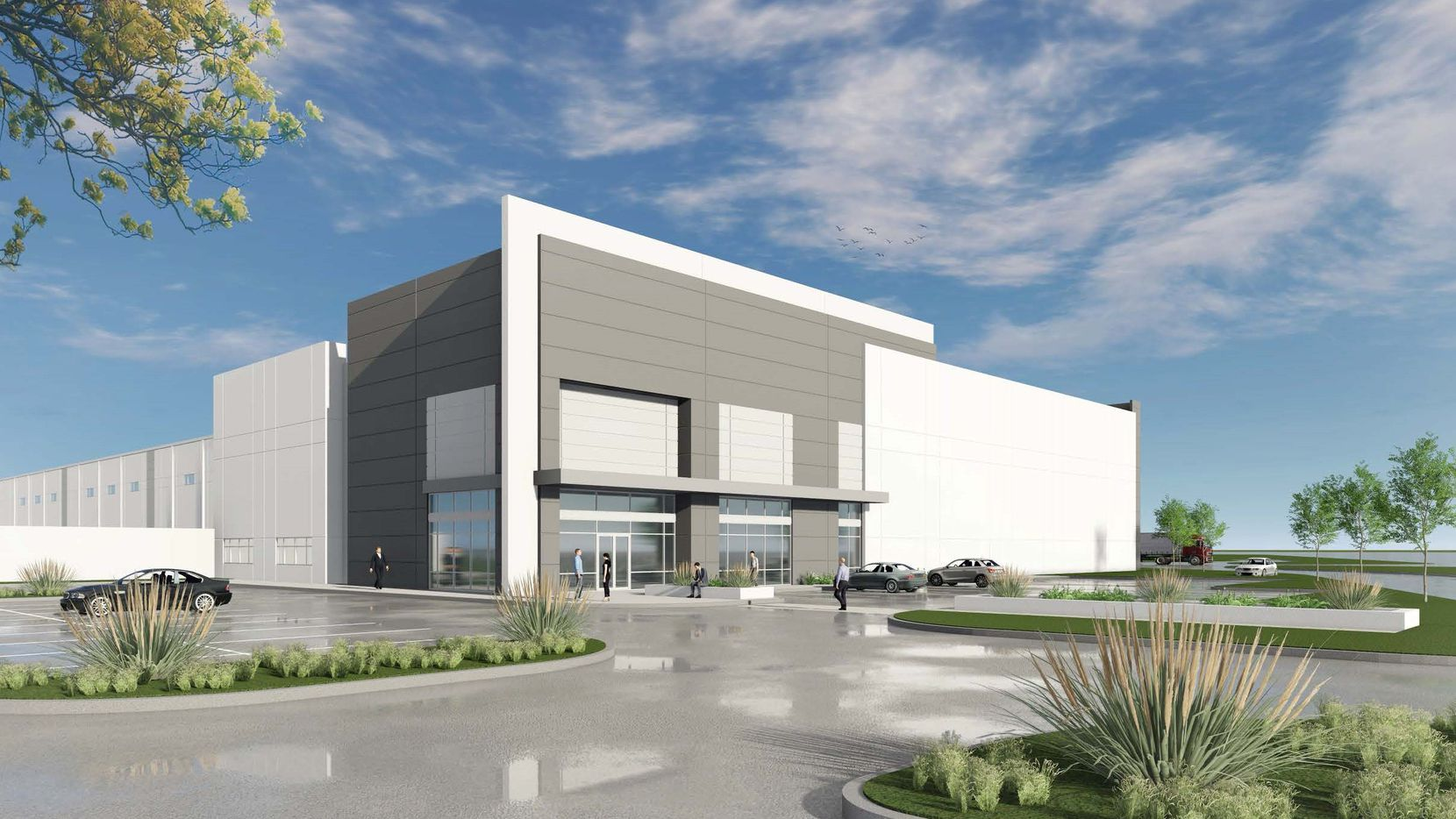 The Grand Lakes   I-30 warehouse will open later this year.