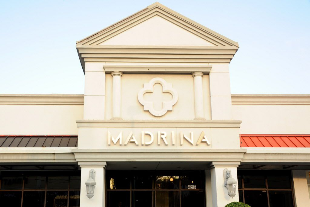 Madrina is located on Oak Lawn Avenue in Highland Park.