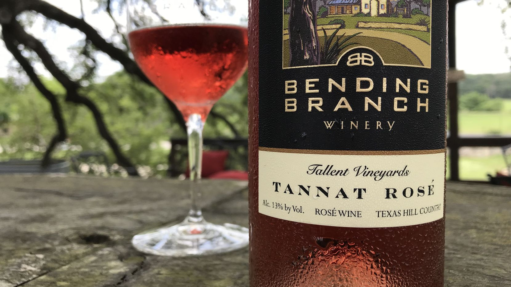 Bending Branch Winery and Tallent Vineyards share the first Texas Sustainable Winegrowing Competition award.