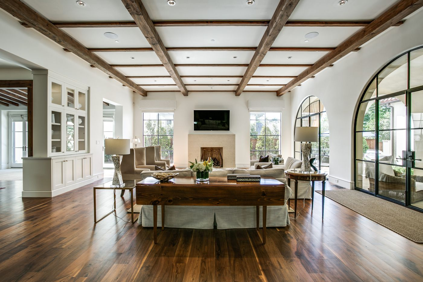 Interior of 3608 Beverly Drive.