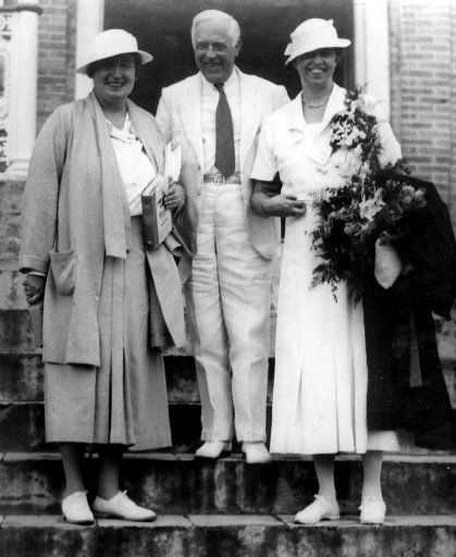 Lorena Hickok (left), Gov. Paul Person of the Virgin Islands, and Eleanor Roosevelt were in the Caribbean in this March 7, 1934, photo.