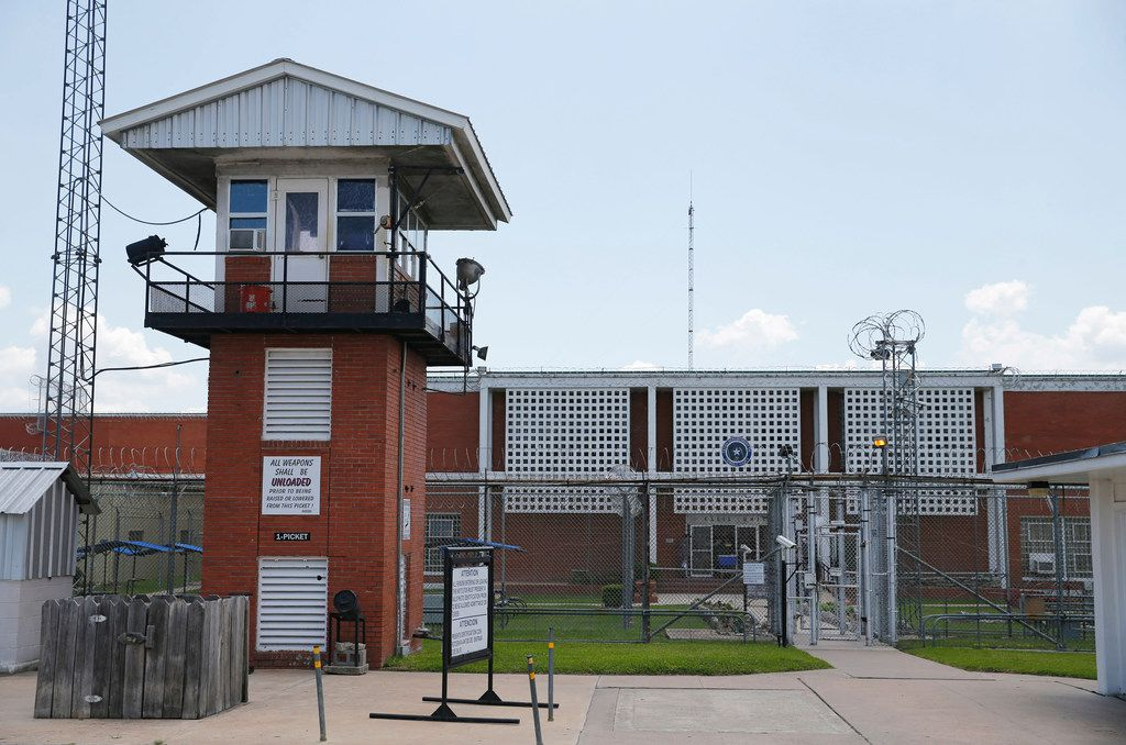 O.B. Ellis Unit, a state prison in Huntsville, Texas, on Tuesday, May 29, 2018. The Ellis Unit will house the COURAGE Program for up to 52 male youthful offenders.