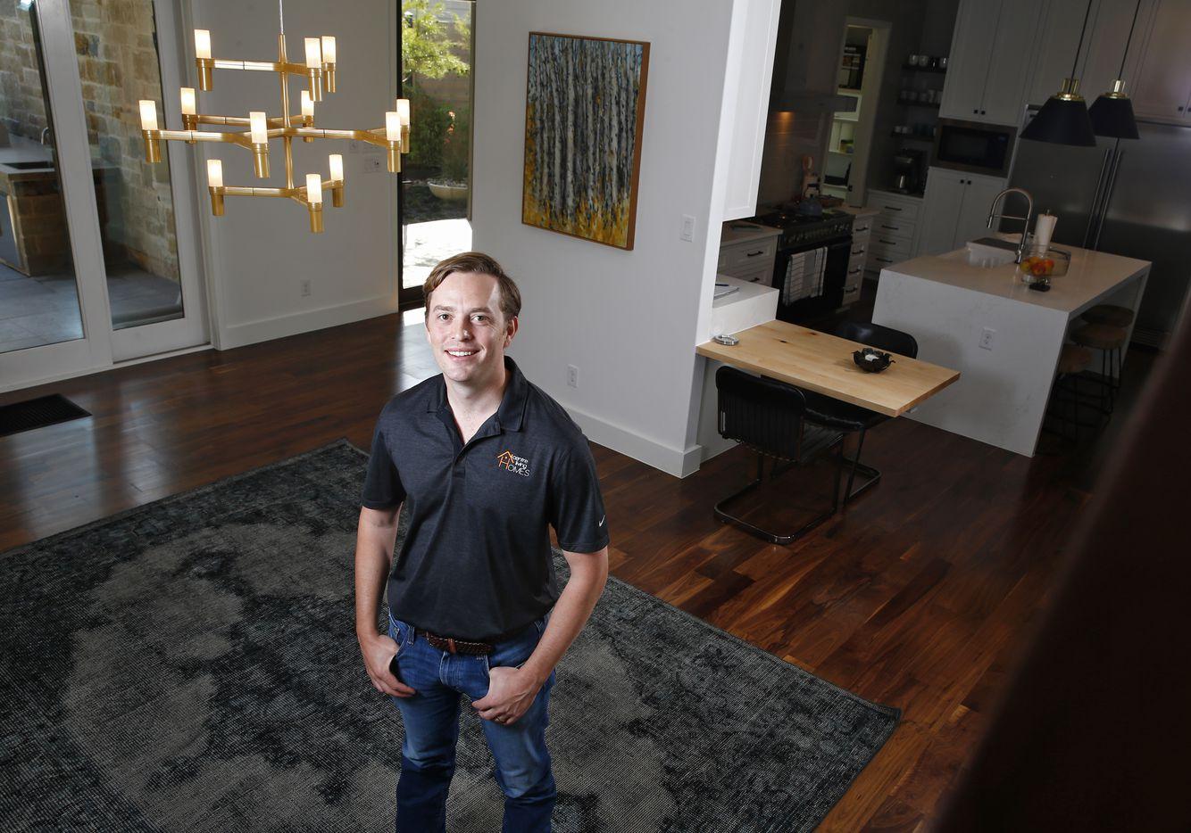 Dallas builder Trevor Brickman is CEO of Centre Living Homes.