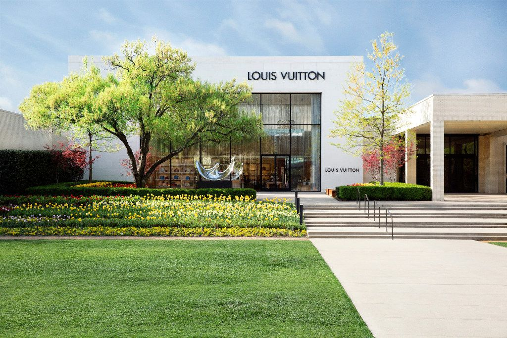 When completed in late July, Louis Vuitton's NorthPark Center store will occupy 10,397 square feet, according to a permit filed with the state.