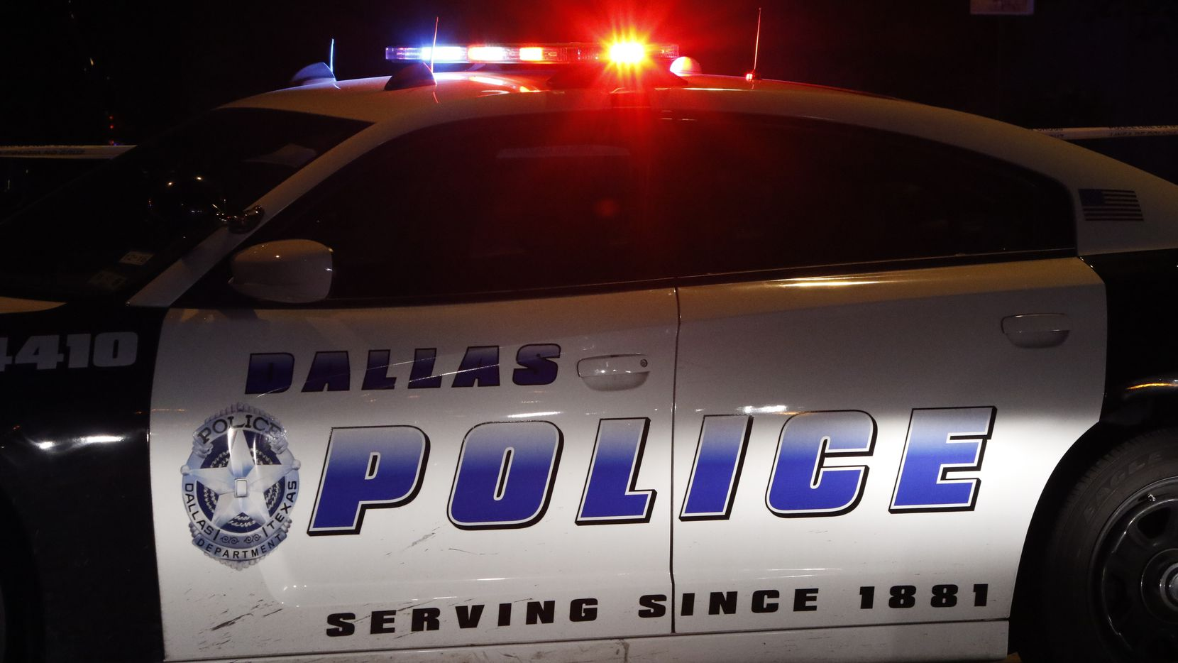STOCK - Dallas Police car