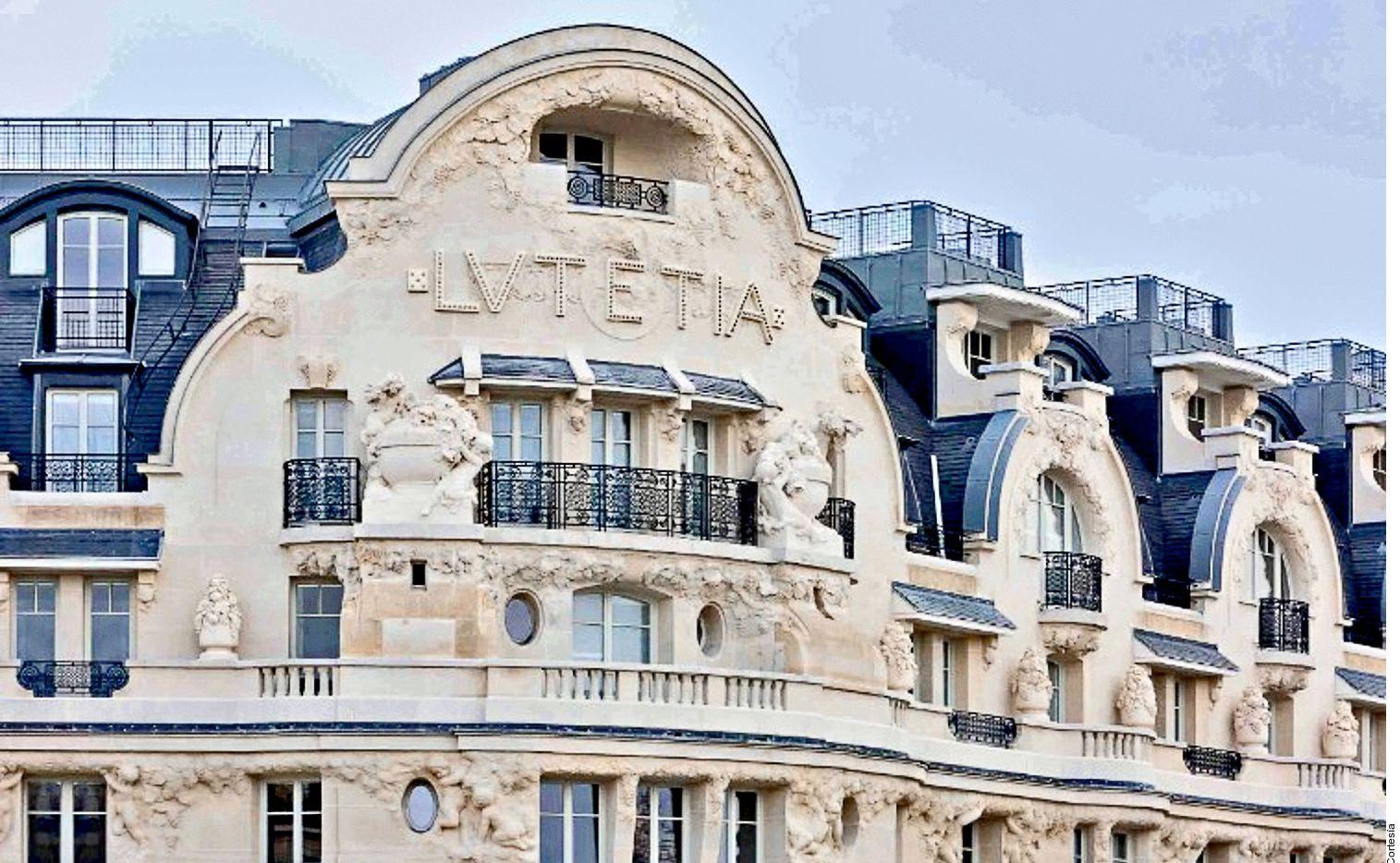hotel Lutetia, lleno de detalles artísticos fue el lugar favorito de muchos artistas como Picasso, Matisse, André Gide, James Joyce, Samuel Beckett, Saint- Exupéry y André Malraux.