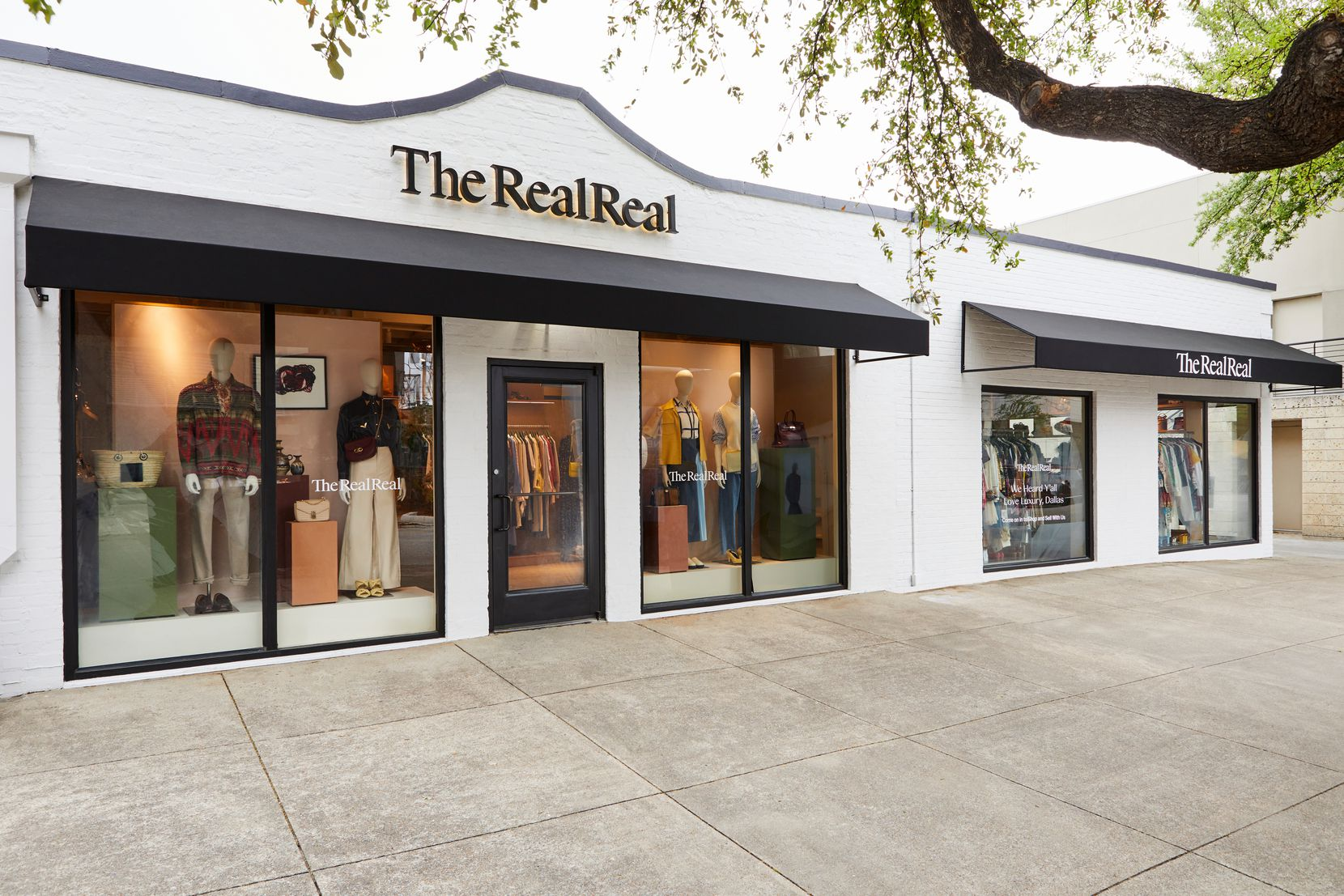 The RealReal opened at 3120 Knox Street in Dallas in April. The store is taking over space that formerly housed Kate Spade New York and is one of the new stores coming to the Knox District.