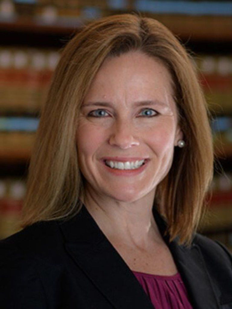 Amy Coney Barrett is a U.S. Circuit Judge of the United States Court of Appeals for the Seventh Circuit, who previously served as the Diane and M.O. Miller Research Chair of Law and Professor of Law at Notre Dame Law School.