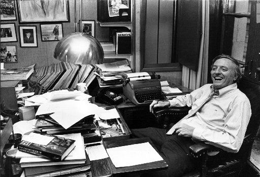 Author and conservative commentator William F. Buckley Jr. in his Manhattan office in 1980. Through National Review, his magazine, he gave a hidden American intelligentsia a platform to develop conservative ideas.