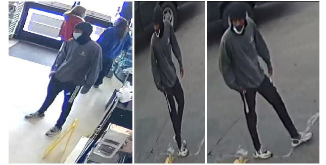 Dallas police released this image of a suspect who fatally shot a man in east Oak Cliff on Feb. 8, 2020.