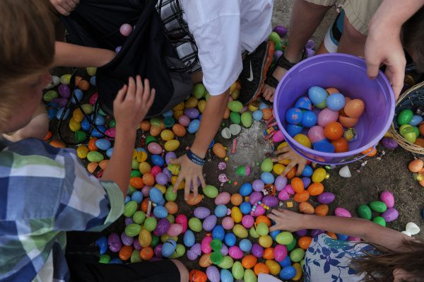 Mesquite has at least two Easter egg hunts this weekend.