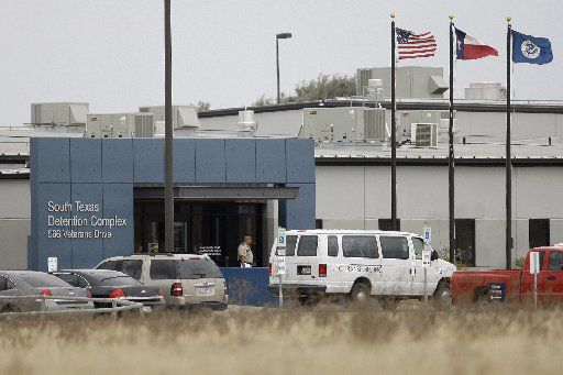 The South Texas Detention Center is seen in Pearsall, Texas, in this 2009 photo.