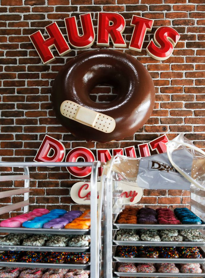 Hurts Donut Co. in Frisco on Tuesday, January 24, 2017. This is Hurts Donut Co.'s first Texas location. (Vernon Bryant/The Dallas Morning News)
