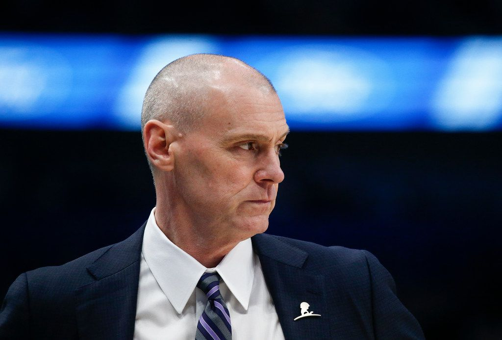 Dallas Mavericks head coach Rick Carlisle watches game action during the first half of an NBA matchup between the Dallas Mavericks and the Chicago Bulls on Monday, Jan. 6, 2019 at American Airlines Center in Dallas. (Ryan Michalesko/The Dallas Morning News)