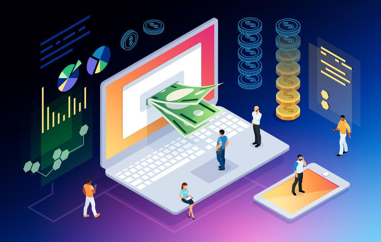 Criptomonedas son una forma de invertir y comerciar en medios digitales.(Getty Images/iStockphoto)