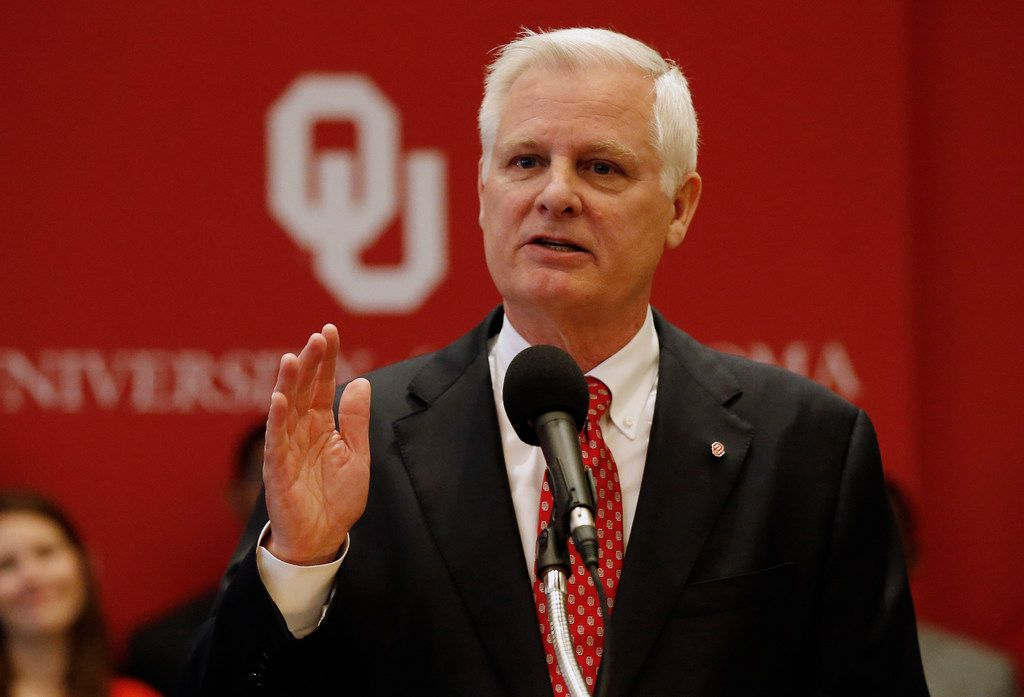 OU's next president, Jim Gallogly, is a former energy executive and a major donor to the university, where he earned a law degree in 1977.