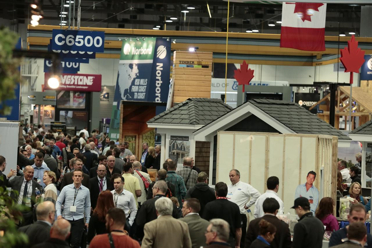 At the National Association of Home Builders Show in Las Vegas, members saw the latest trends.