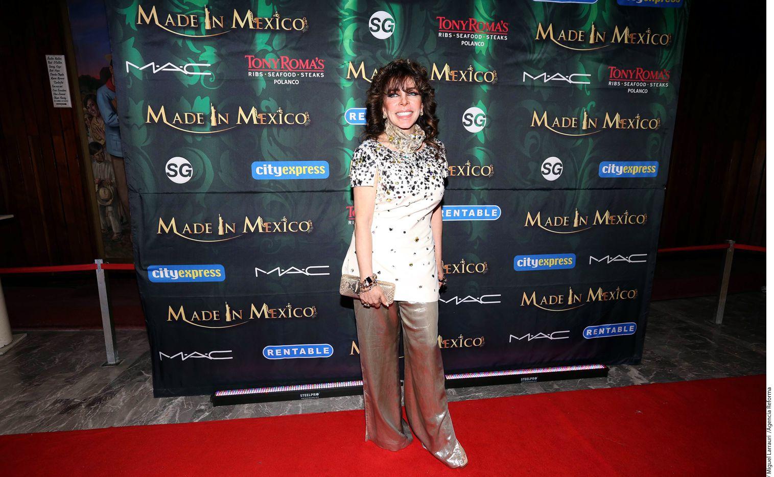 La actriz Verónica Castro fue intervenida quirúrgicamente debido a una lesión en el hombro, de acuerdo con el periodista Alex Kaffie./ AGENCIA REFORMA