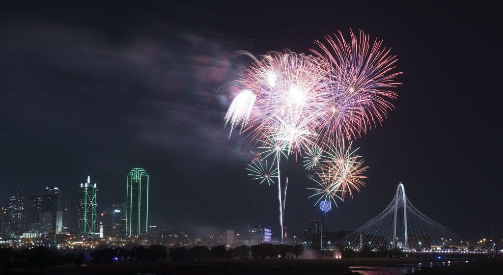 From Fort Worth to the Colony, here are the best spots to see fireworks.